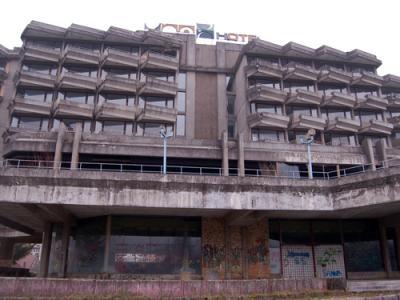 Former Hotel Una, Novi Grad