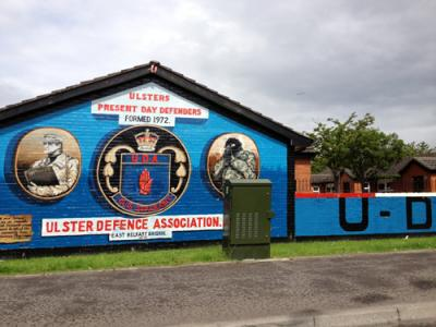 Ulster Defence Association Mural