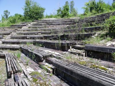 external amphitheater at the Political School